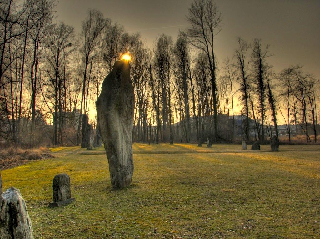 menhirs de Clendy Yverdon