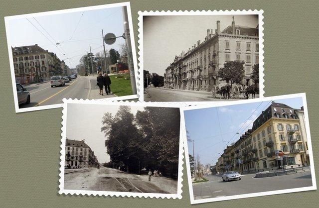DansUnDocument Neuchâtel avantMaintenant Attinger 1er avenue voiture