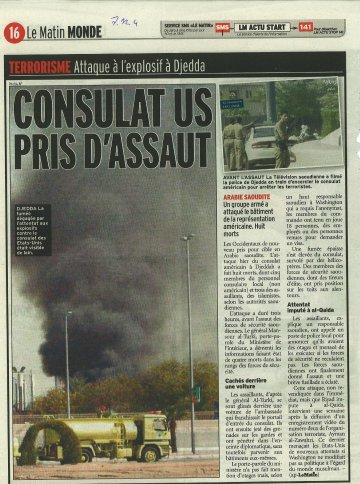 le matin 7 décembre 2004 attentat consulat USA Djedda.jpg