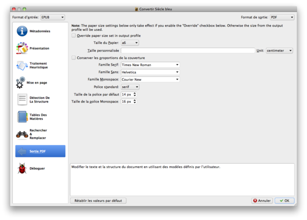 config calibre export epub to pdf iliad.png