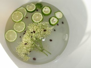 limonade de sureau en fabrication.JPG