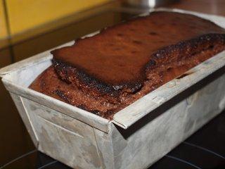 07-cake cuit dans son moule.JPG