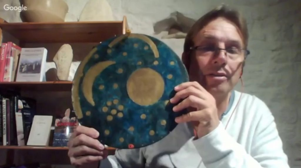 23-disque de Nebra NureaTV Howard Crowhurst oposition soleil mars