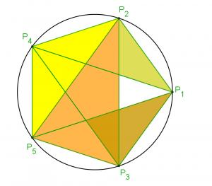 nombre d'or pentagramme