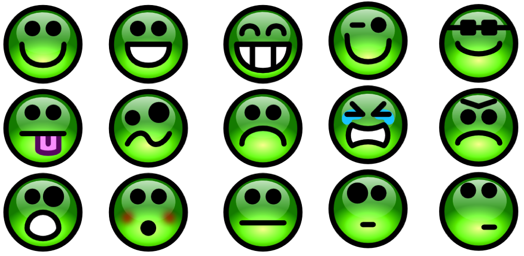 gerer ses emotions smiley vert
