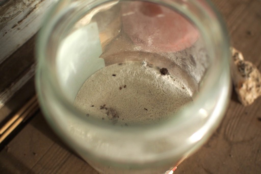 Preparat biodynamie silice corne