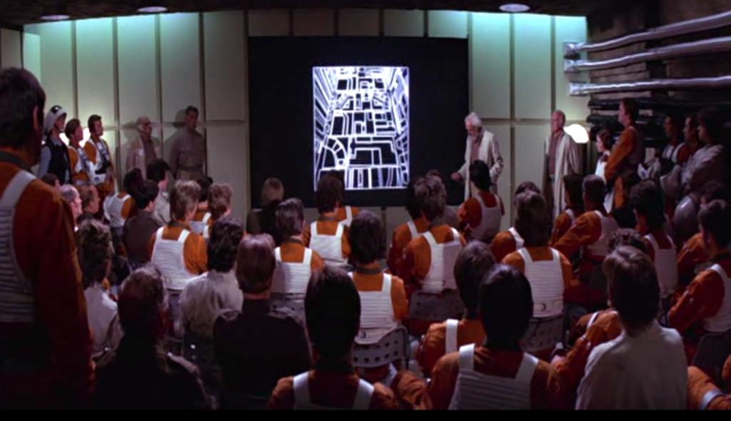 star wars briefing vieille techno