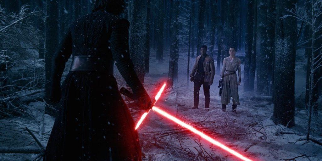 star wars kylo ren sabre laser