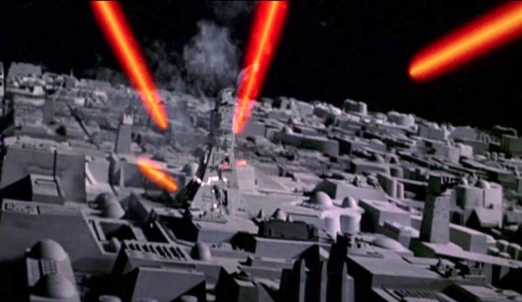 star wars maquette laser