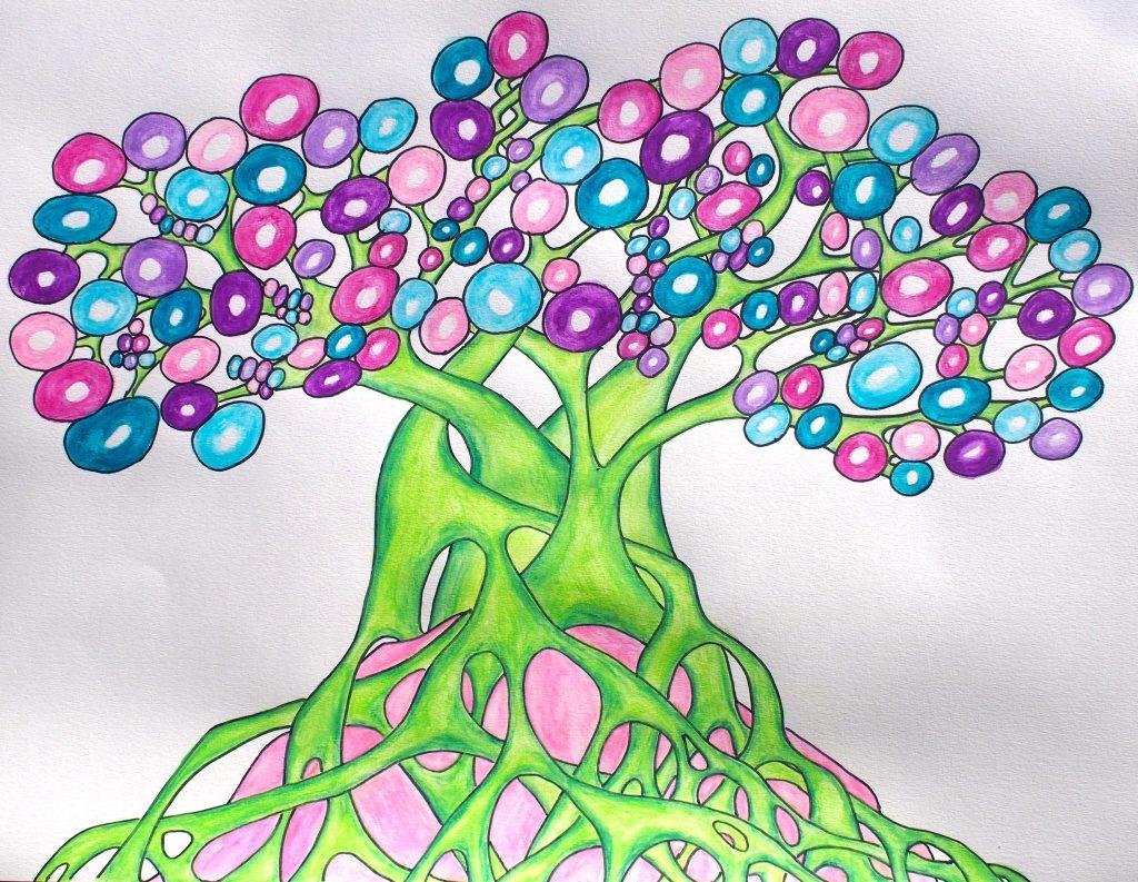 art brut structure martouf arbre de vie gloubiboulga fuji
