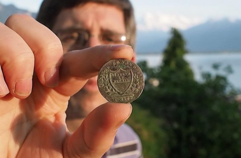 Pièce de monnaie 1 Batz vaudois 1803