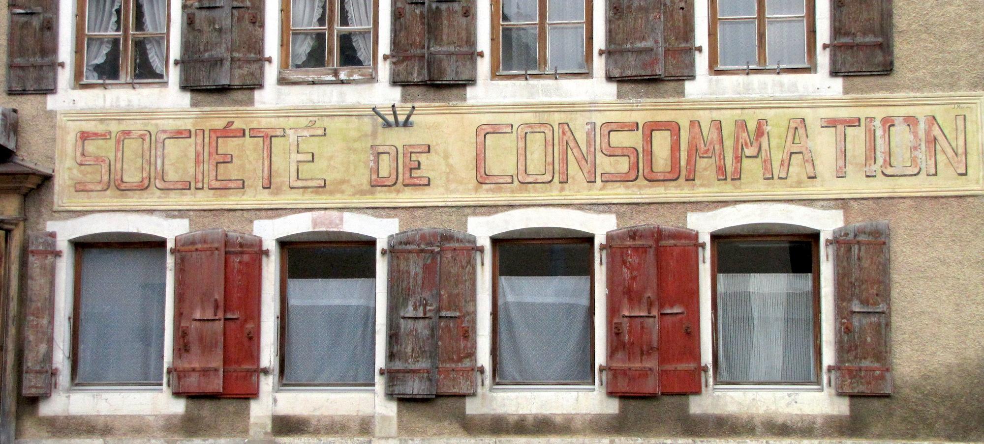 societe de consommation