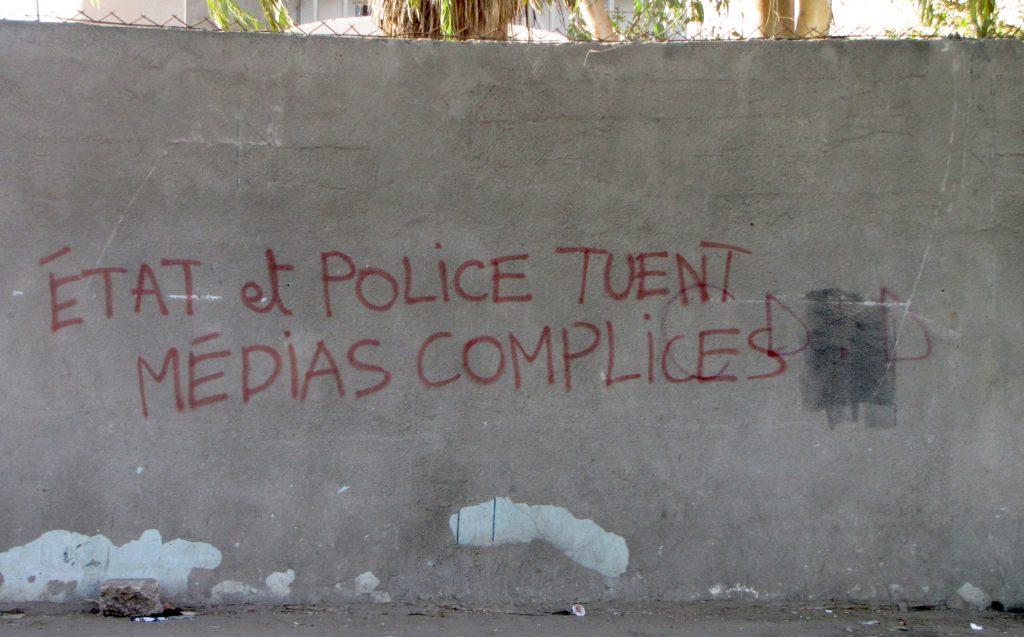 Etat et police tuent