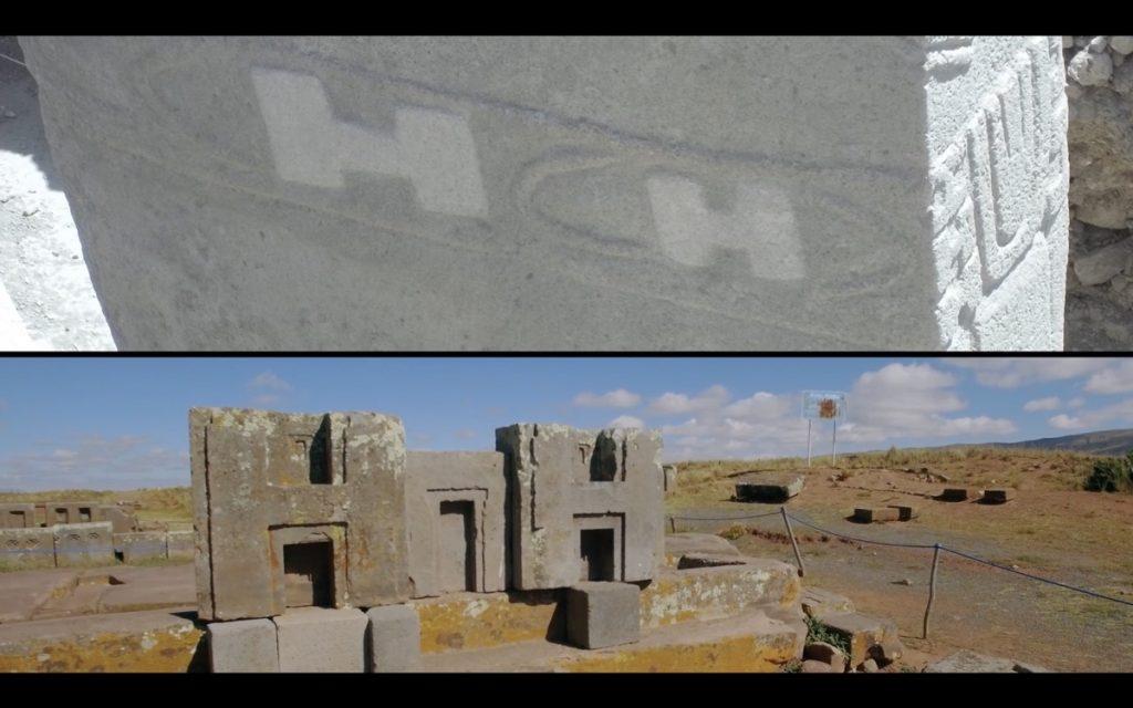 comparaison H bloc de pierre gobekli tepe et puma punku