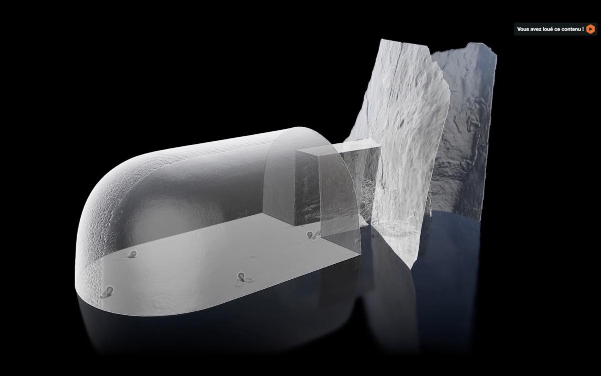 scan 3d grotte barabar vadathika