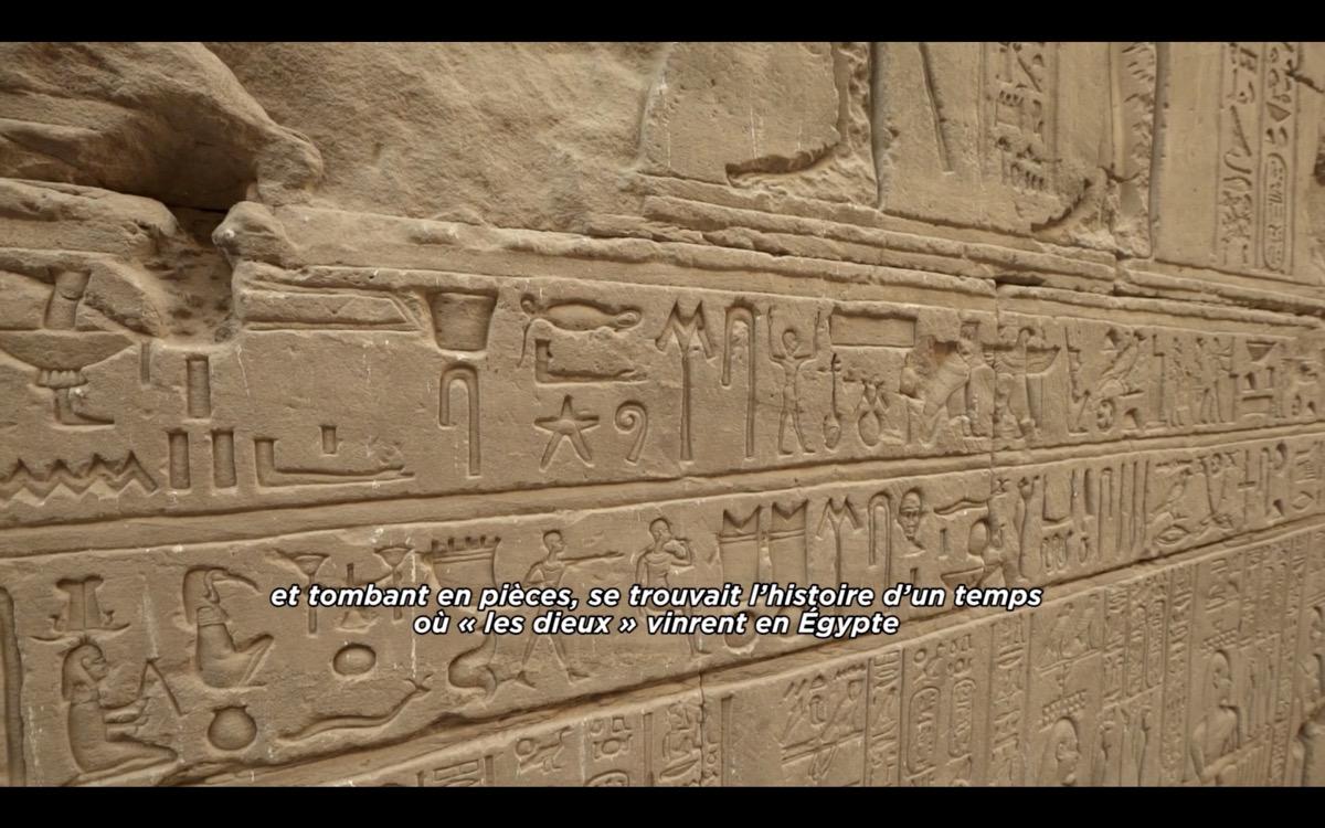 temple edfou histoire origine des dieux