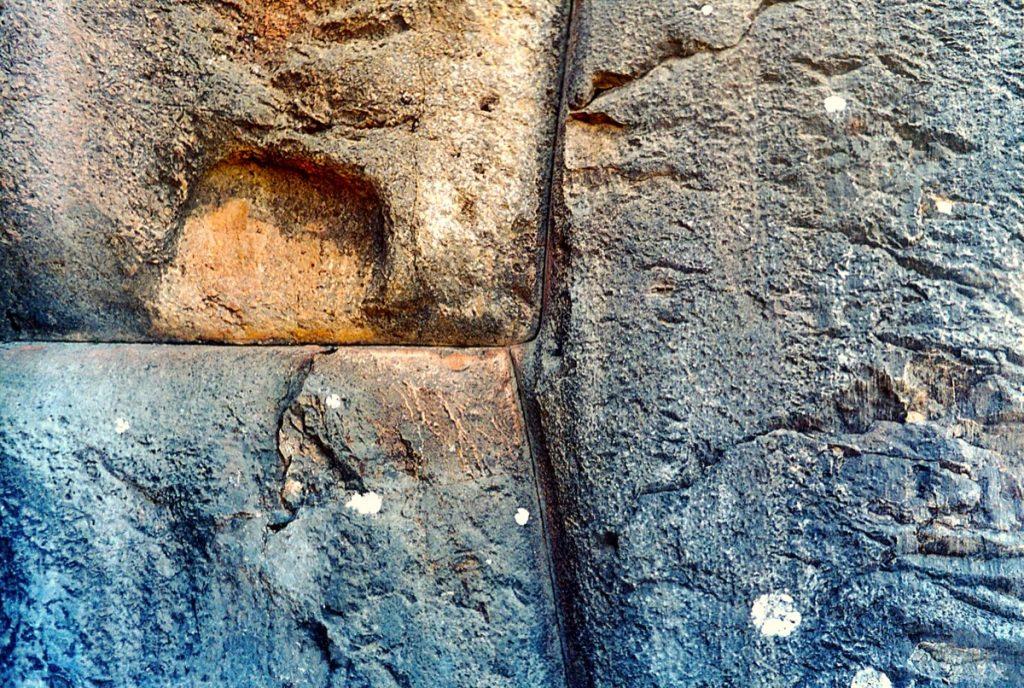 Sacsayhuaman detail jointure mur cyclopene