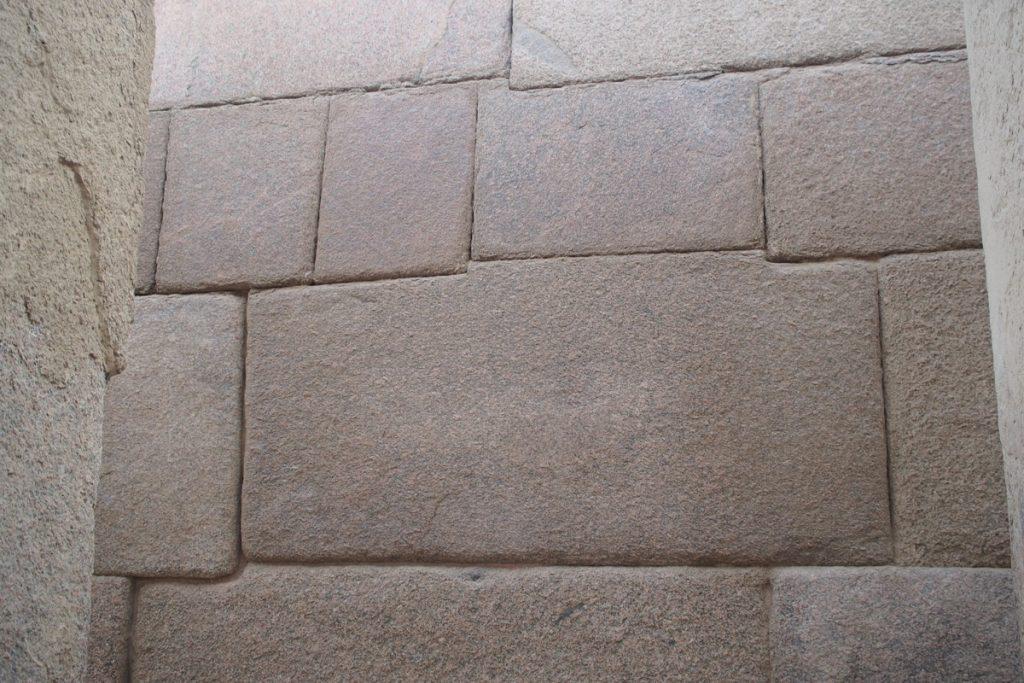 mur en granite temple de la vallee kephren