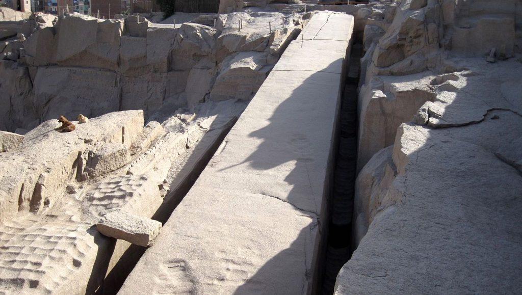 obelisque inacheve assouan