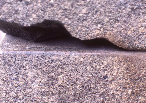 pierre fondue sacsayhuaman gel de silice