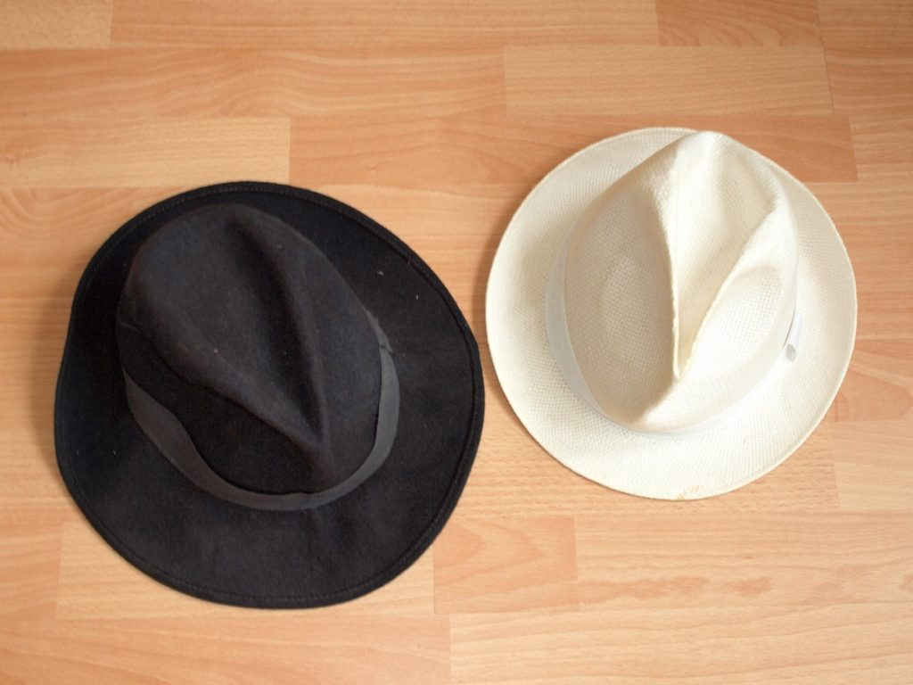 black hat et white hat vote electronique