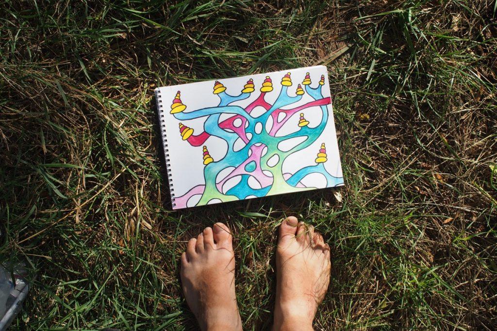 pieds de Martouf dessin structure