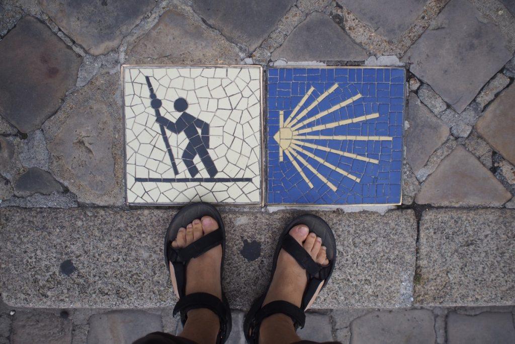 pieds de Martouf pellerin st-jacques