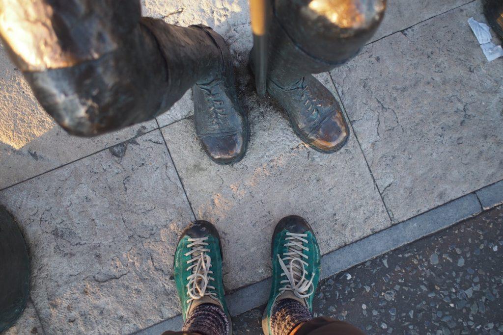 pieds de Martouf pieds de baden powell