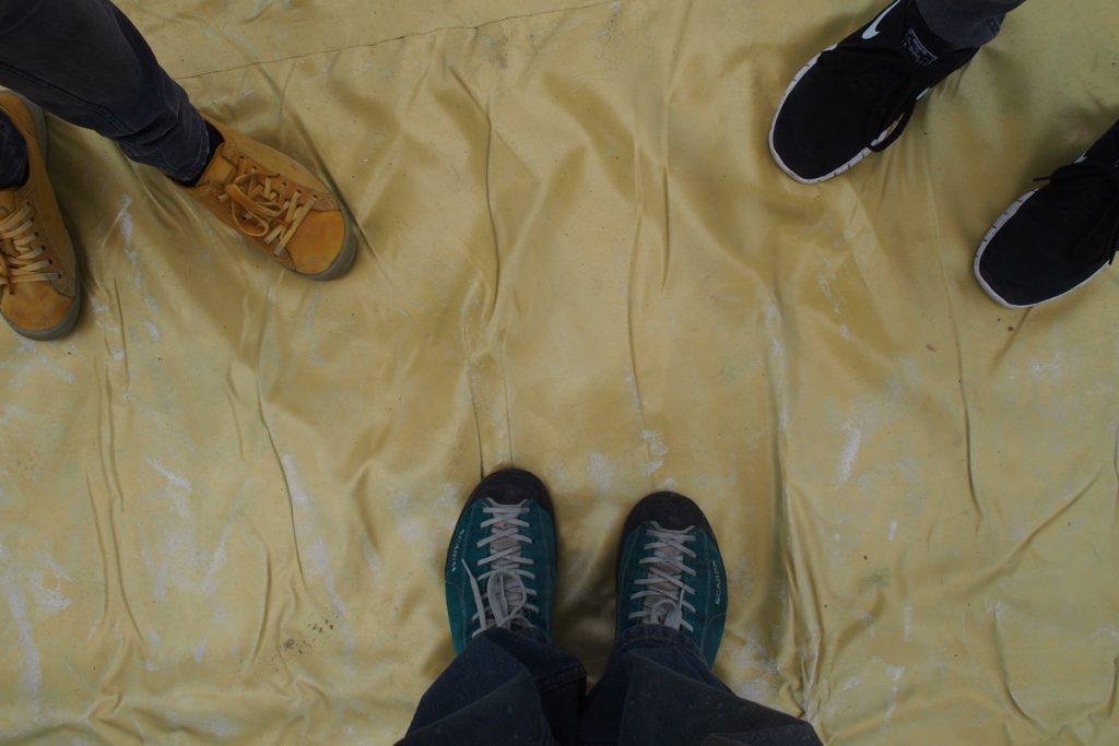 pieds de Martouf record plus grande affiche du monde revenu de base
