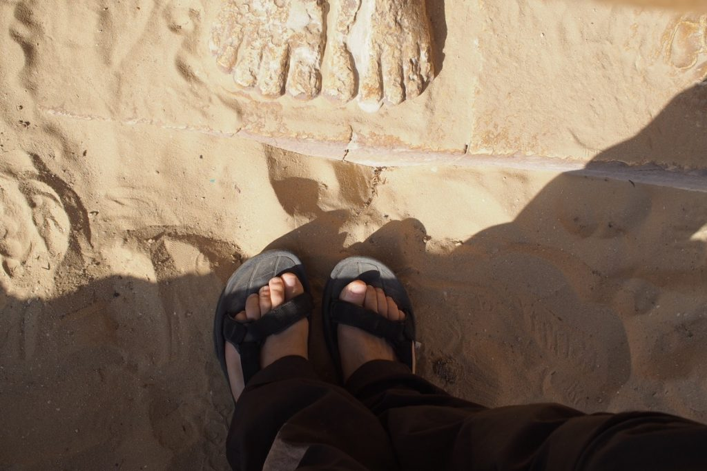 pieds de Martouf saqqarah