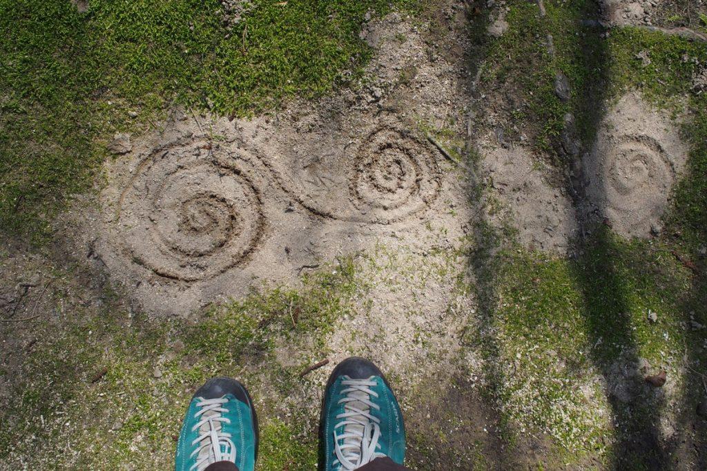 pieds de Martouf spirale vortex
