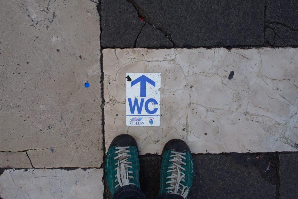 pieds de Martouf venise wc