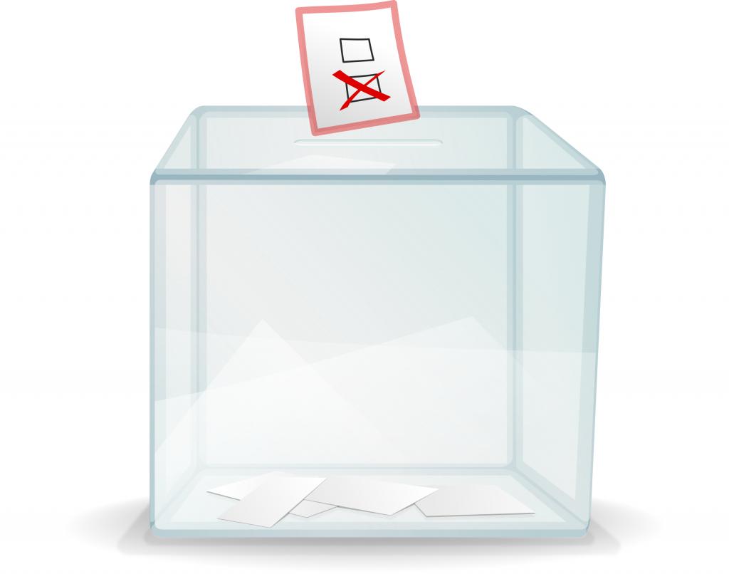 urne transparente vote