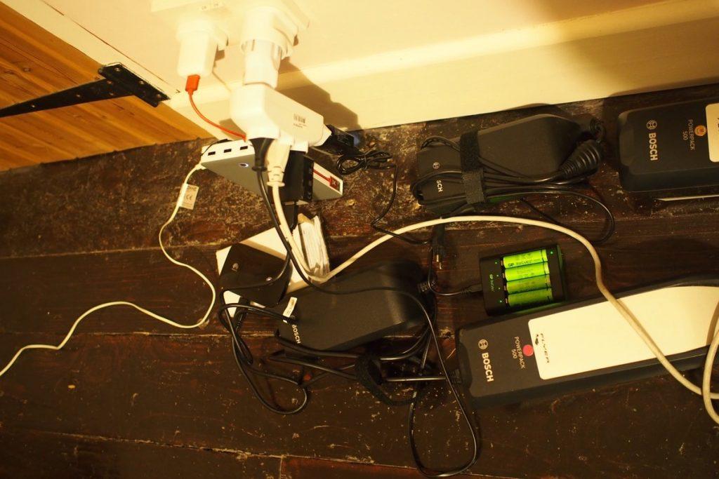 voyage velo materiel electronique chargeur batterie velo electrique accu usb power bank