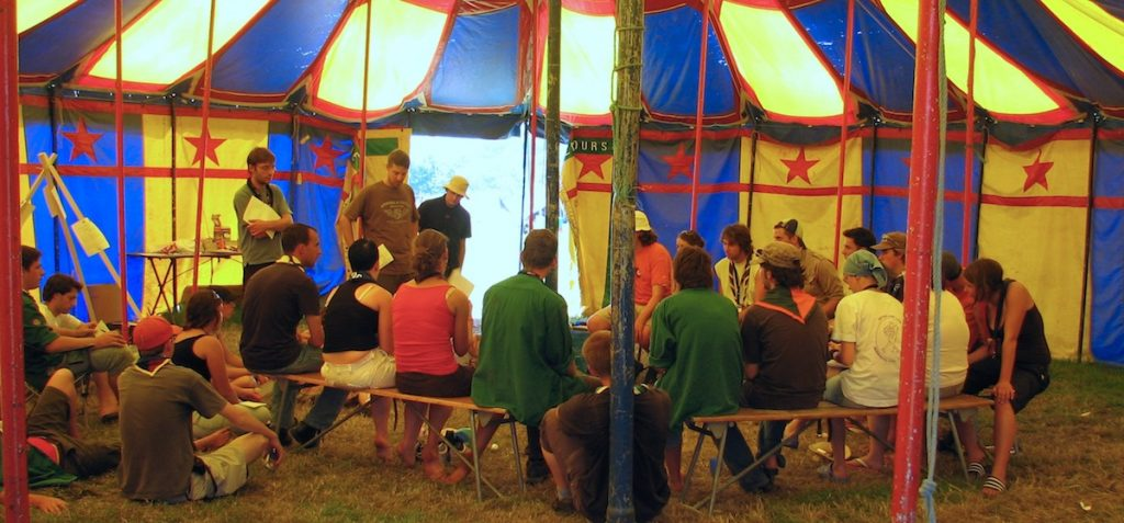 strcuture reunion seance gouvernance partagee organique