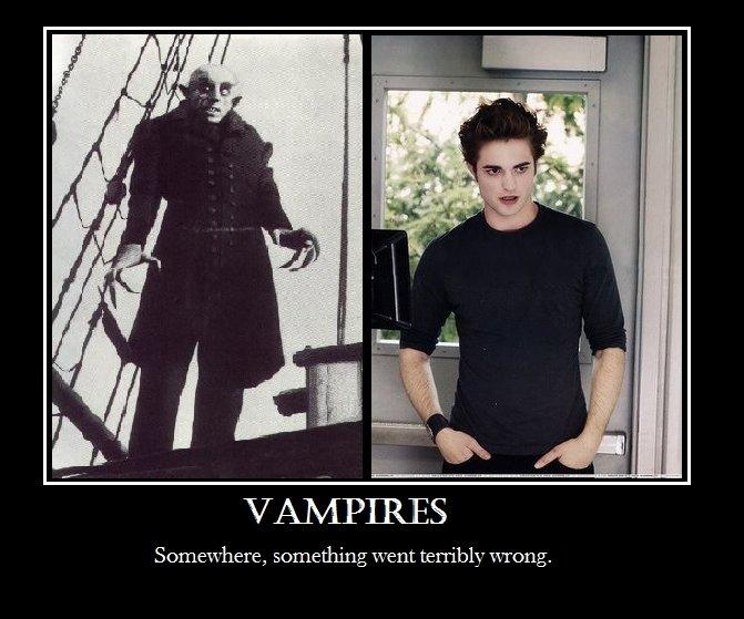 vampire comparaison nosferatu