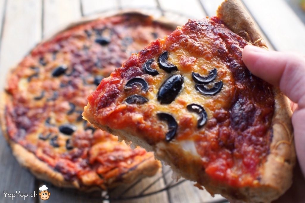 08-recette de pizza maison halloween araignee