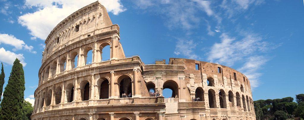 panorama colisee Rome jeu du cirque