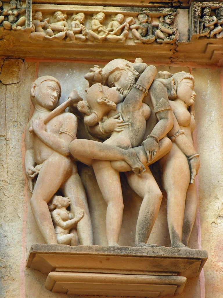 sexe temple inde Vishvanatha India.Khajuraho
