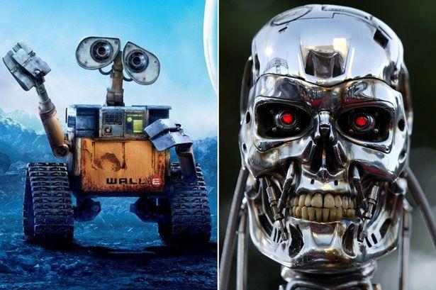 wall-e-vs-terminator robot toujours plus gentil et adorable