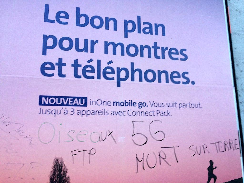 affiche suisse anti-5g oiseaux morts