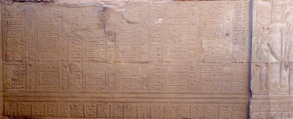 Calendrier Egyptien.L Origine Des Runes Se Trouve Dans Le Calendrier Celtique