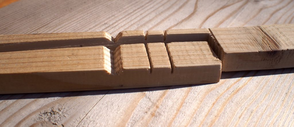 encoche baton de comptage tally stick
