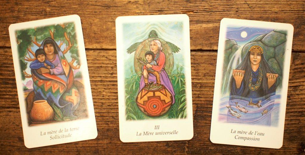 féminin sacré archétype de la mère universelle spiritualité carte tarot