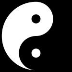 yin-yang complémentaire symbole