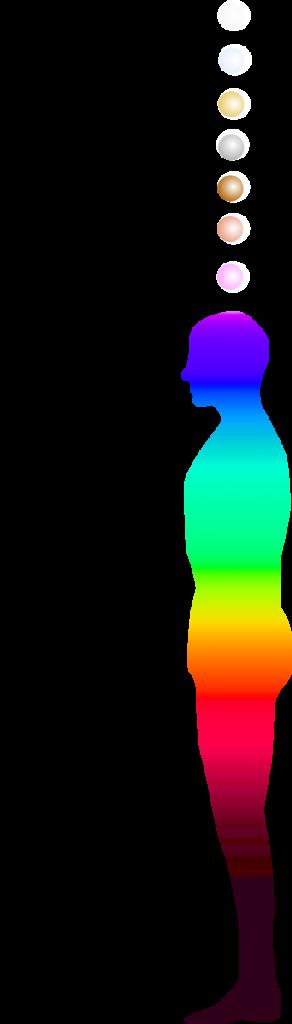 chakra corporels et extracorporels plan vibratoire LVA Life Vibration Analyser