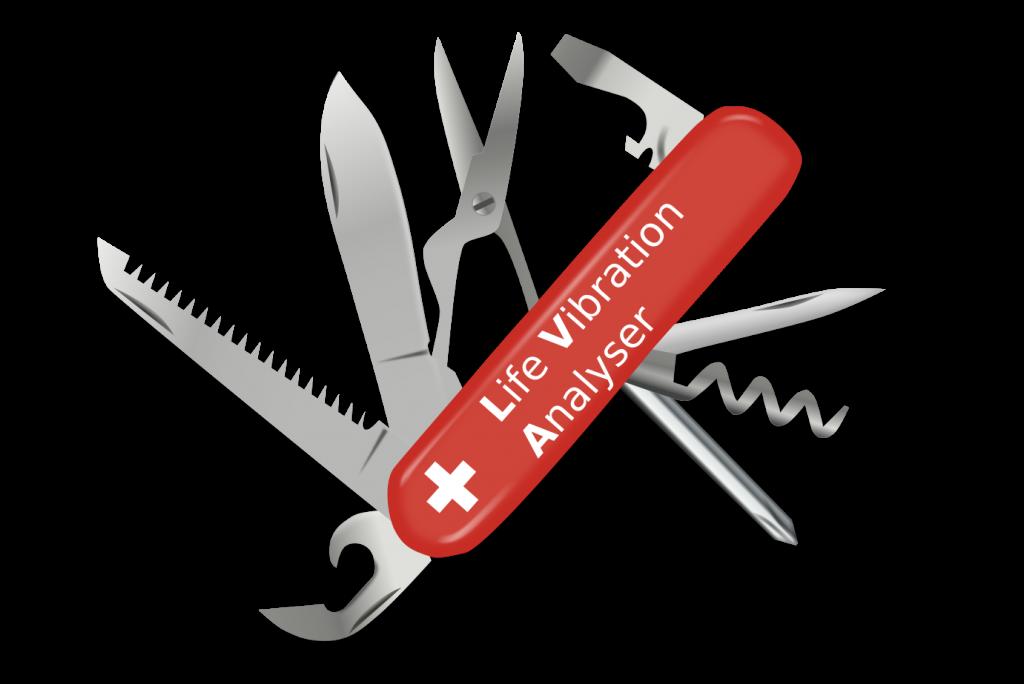 life vibration analyser lva-couteau-suisse