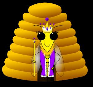 ruche reine abeille
