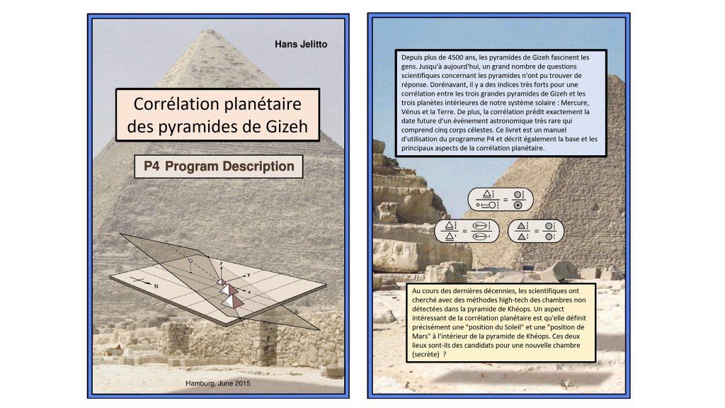 corrélation planétaire pyramide de gizeh