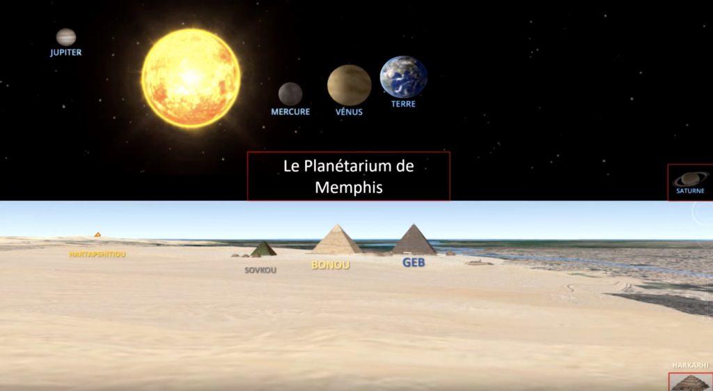 planète pyramide égypte
